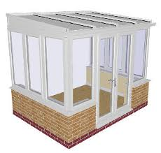 Dwarf Wall Lean-to Conservatory