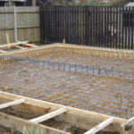 lean to conservatory foundations