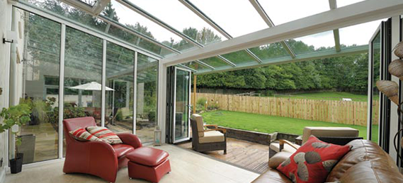White Glass conservatory
