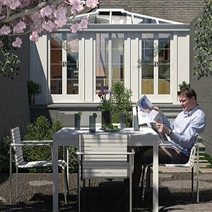 Fully fitted conservatories cost conservatory price guide for Kitchen design 4m x 3m