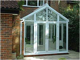 Small UPVC Gable Conservatory