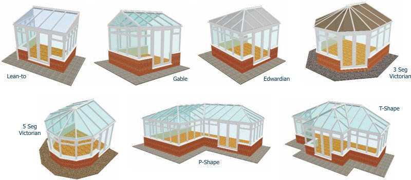 conservatory design styles