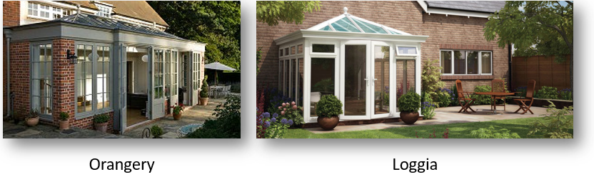 What is a Loggia Conservatory?