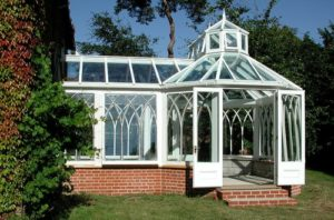P Shape Victorian Conservatory