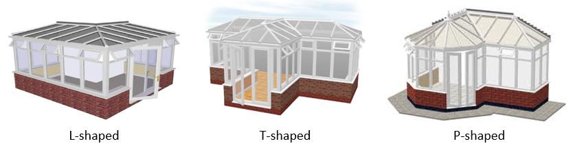Popular Shaped Conservatories UK